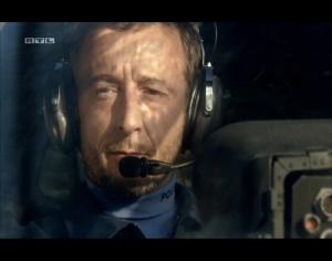 René Werner in der Rolle des Helicopter Piloten. Alarm für Cobra 11