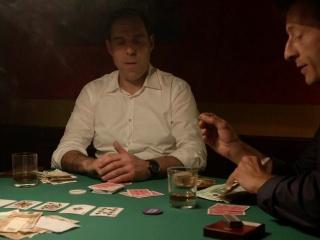 """Pokerspieler in """"Der Bulle und das Landei"""""""
